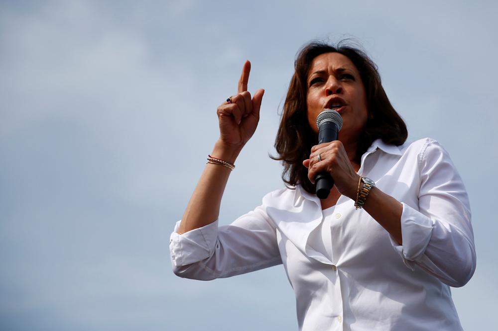 Kamala Harris, Reuters