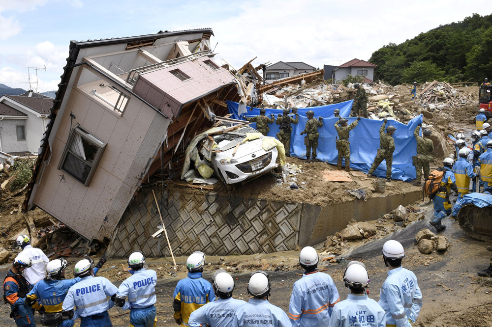Au Japon., Reuters