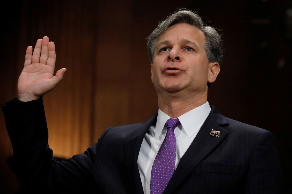 Christopher Wray, REUTERS