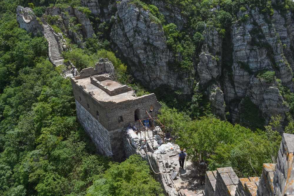 Jiankou, Xinhua