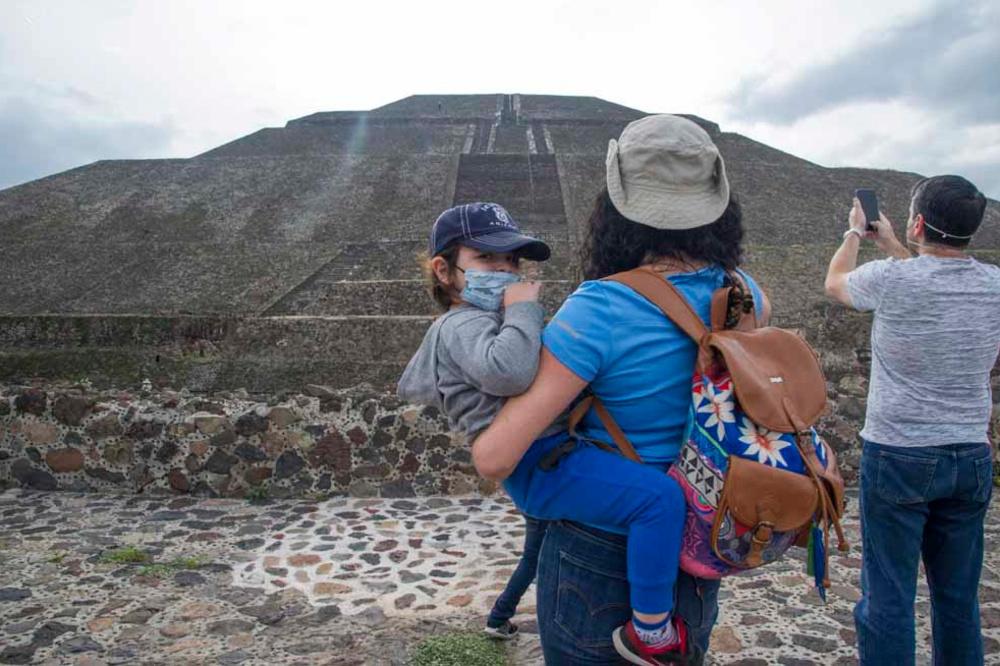 Teotihuacan, AFP