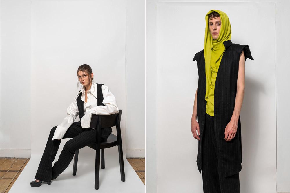 Enkele creaties van Matteo La Rosa, GF
