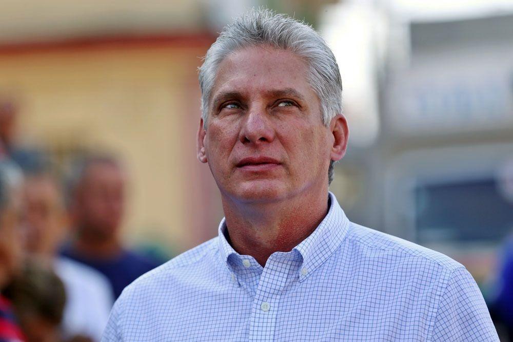 Miguel Diaz-Canel , Reuters