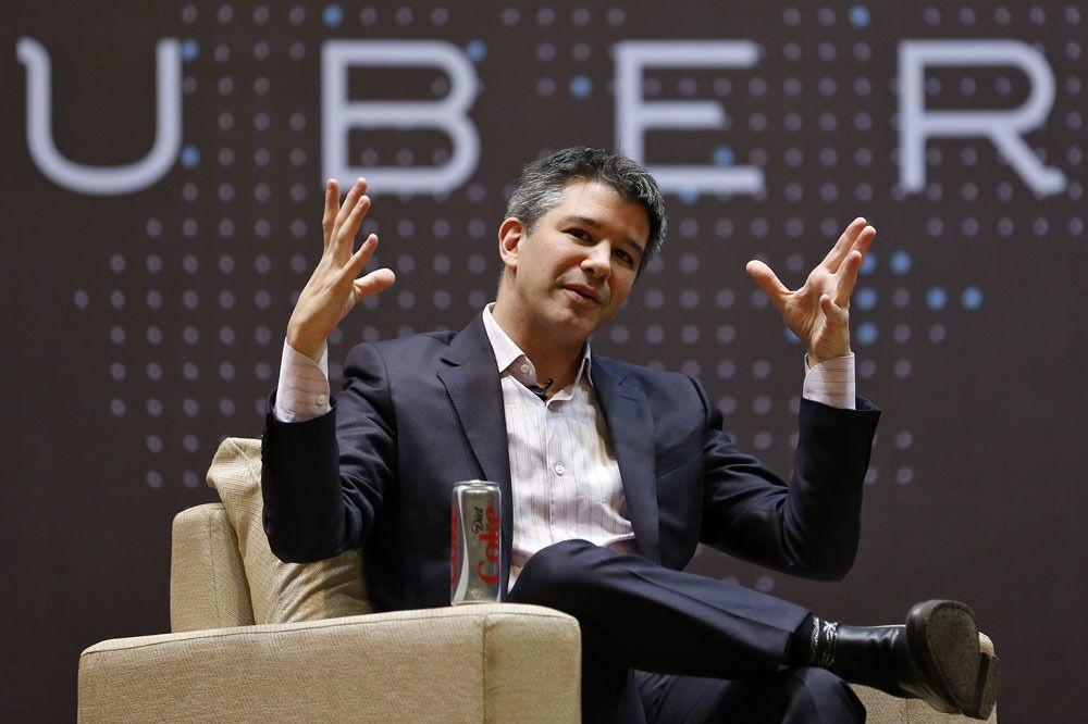 Voormalig Uber-CEO Travis Kalanick., Reuters