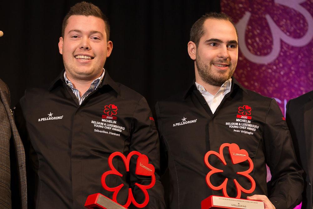 Jean Vrijdaghs et Sébastien Hankard, Belga