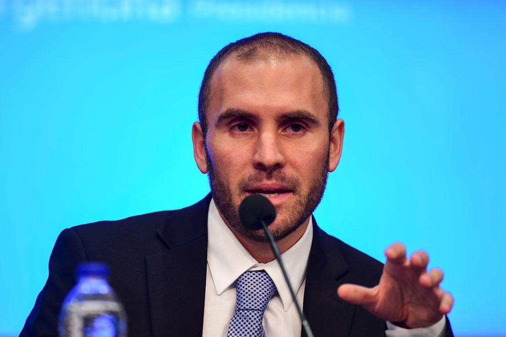 Martin Guzman, le ministre de l'économie , AFP