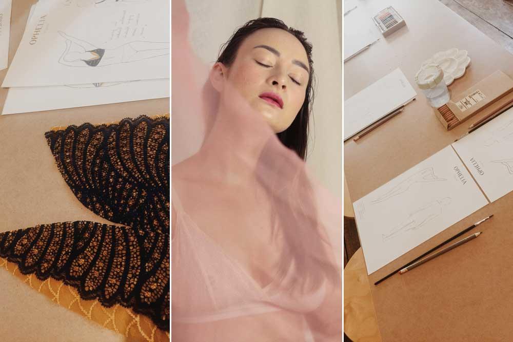 Een lingeriesetje op maat of er zelf eentje ontwerpen bij Ophelia in Antwerpen, Ophelia