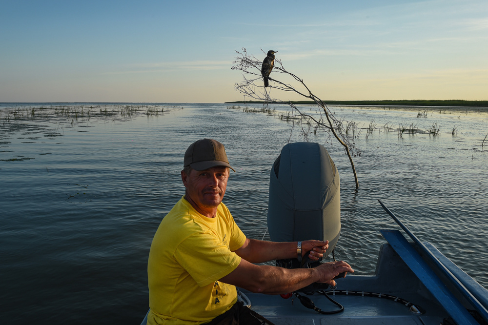 Marius, un pêcheur de 51 ans, AFP/DANIEL MIHAILESCU