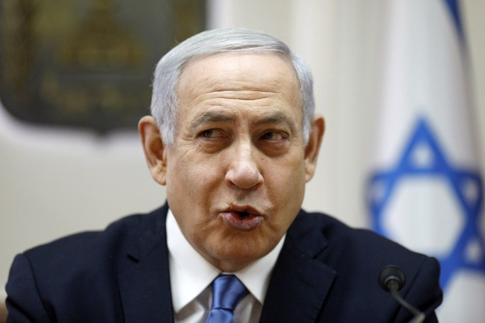 Benjamin Netanyahu , AFP