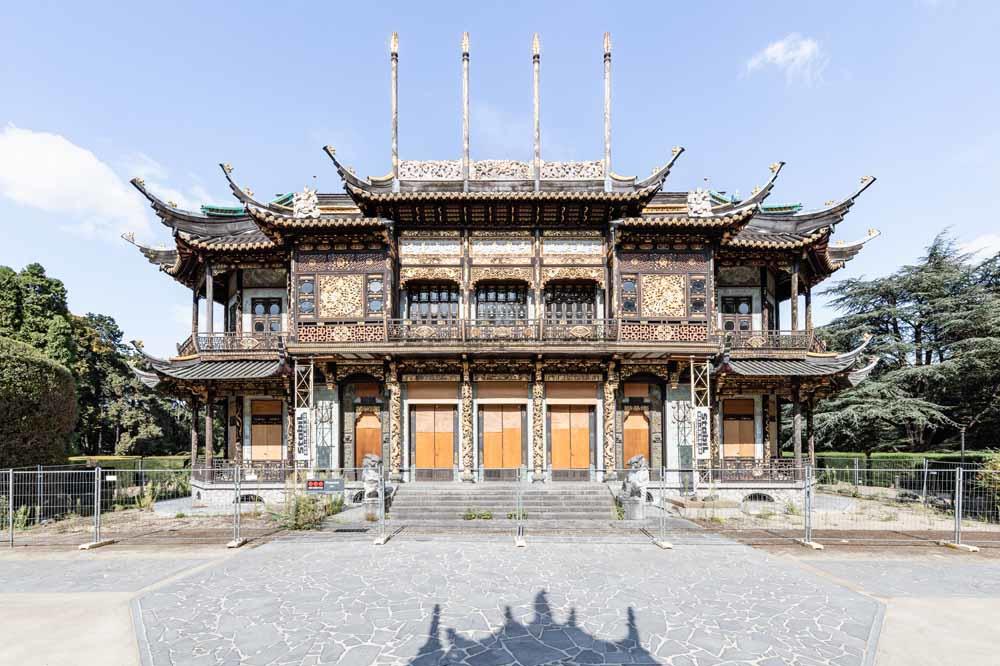 Chinees paviljoen, Alexander Dumarey
