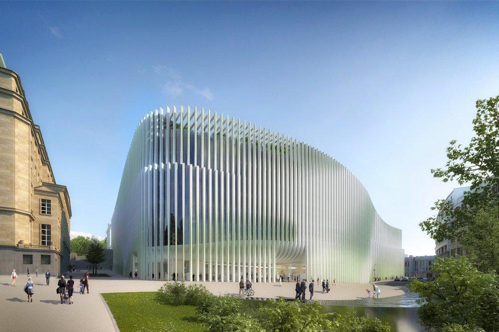 BNP Paribas Fortis Bank HQ, Baumschlager Eberle, Baumschlager Eberle