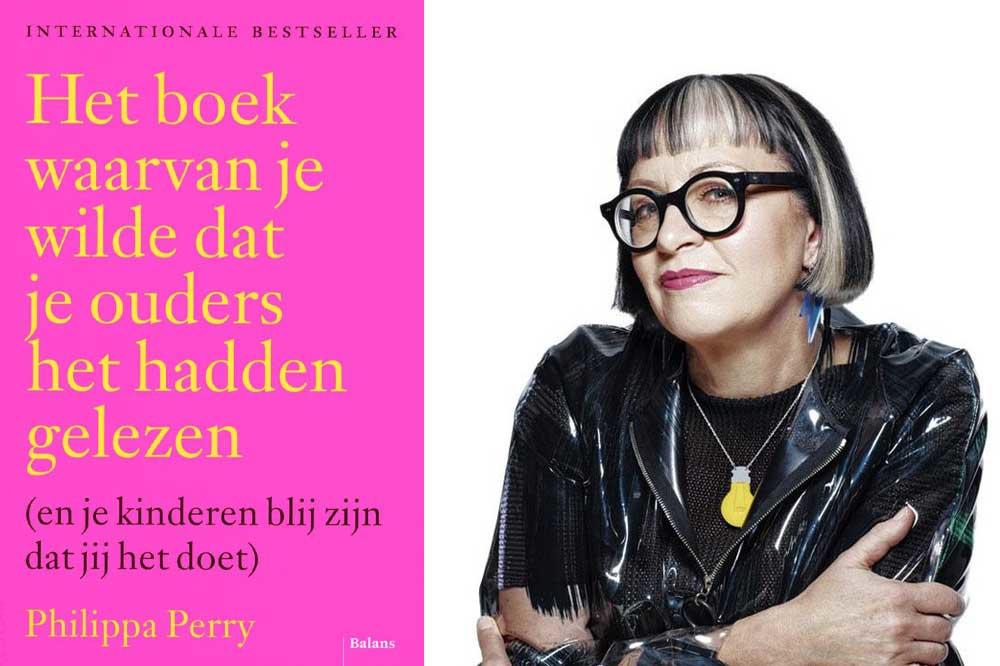 Philippa Perry - Het boek waarvan je wilde dat je ouders het hadden gelezen (en je kinderen blij zijn dat jij het doet), Foto Rankin/Trunk