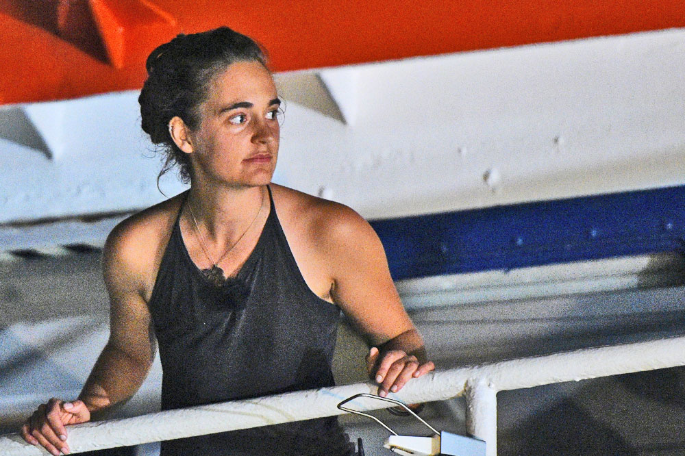 Carola Rackete, Reuters