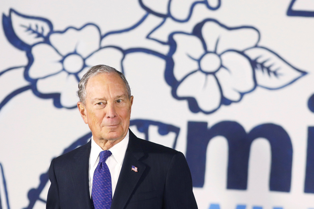 Michael Bloomberg., Reuters