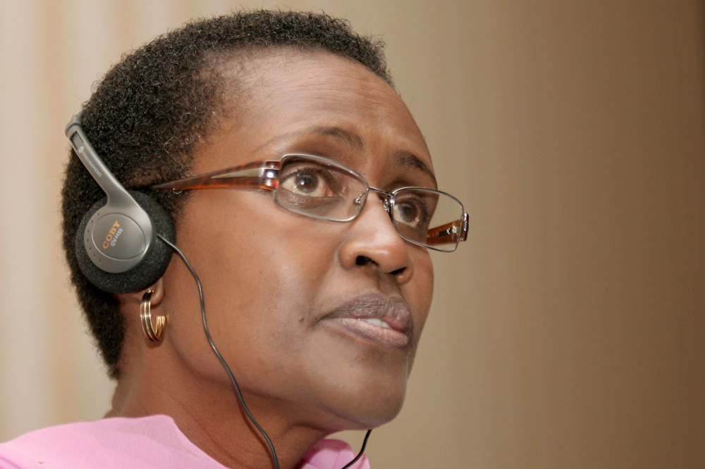 Winnie Byanyima, AFP