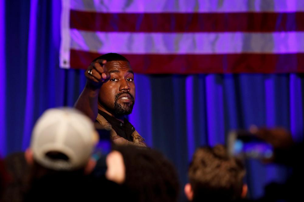 Kanye West, Reuters