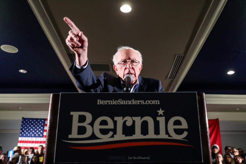Bernie Sanders., Reuters