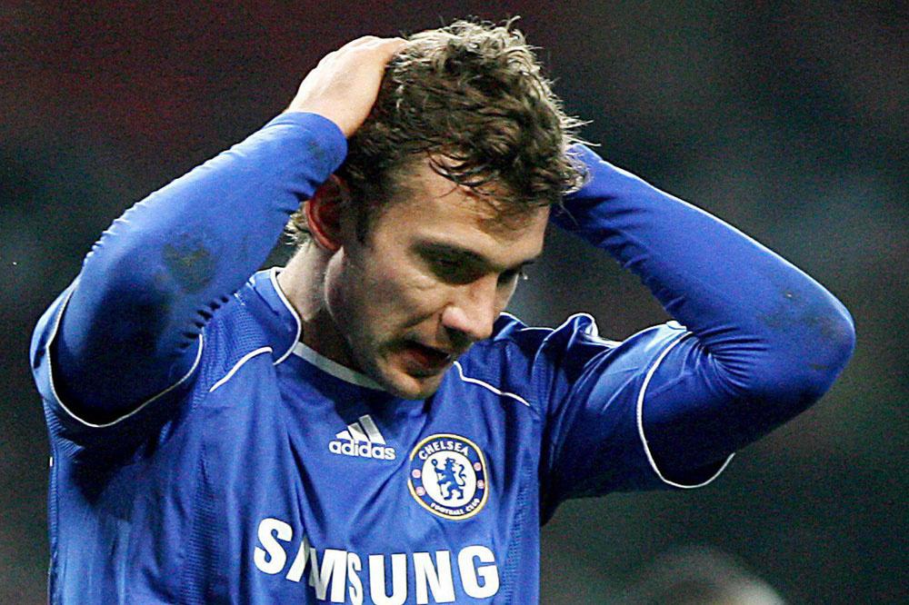 Sjevtsjenko kon niet bevestigen bij Chelsea, Belga Image