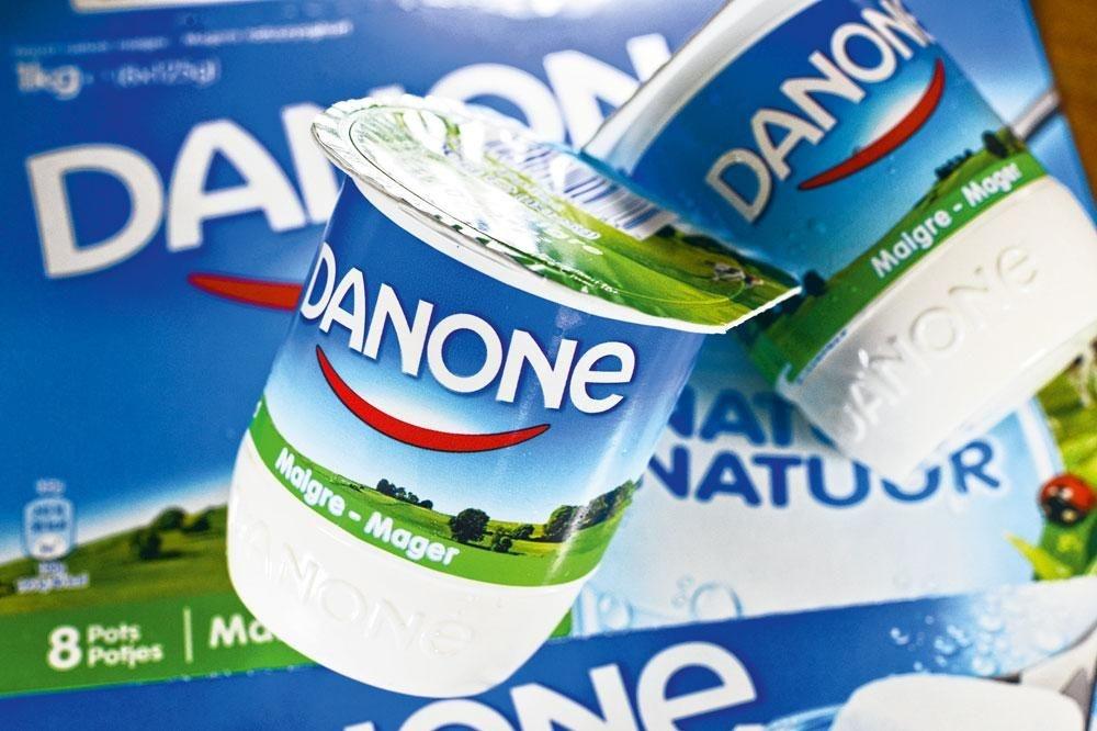 Danone Le holding Sofina en détient un gros pour cent., BELGAIMAGE