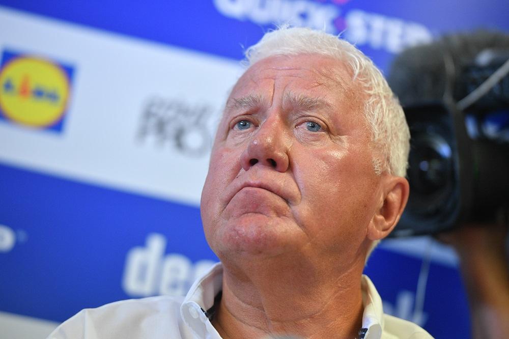 Patrick Lefevere, manager de l'équipe cycliste Deceuninck - Quick Step, fait également son entrée dans le conseil d'administration, belga