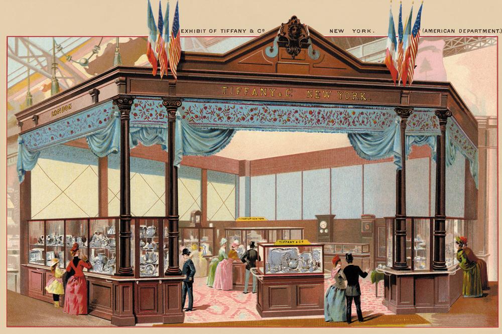 Exposition Tiffany and Co. à l'Exposition Universelle de 1889 à Paris, Getty Images