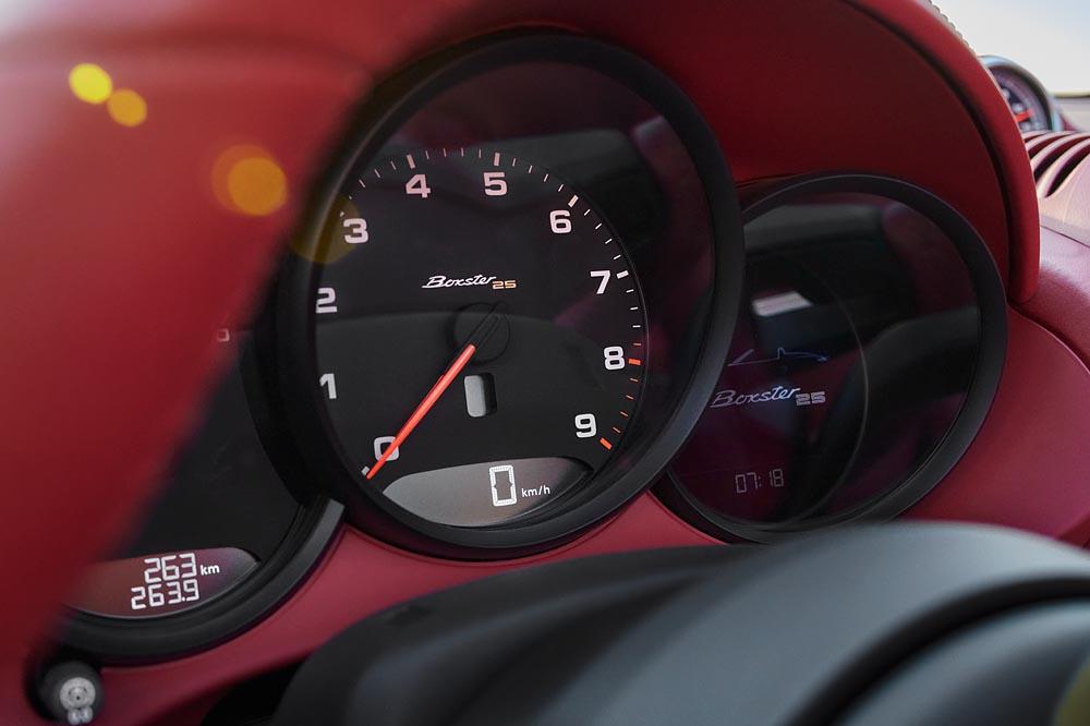 Porsche Boxster 25 Years, GF