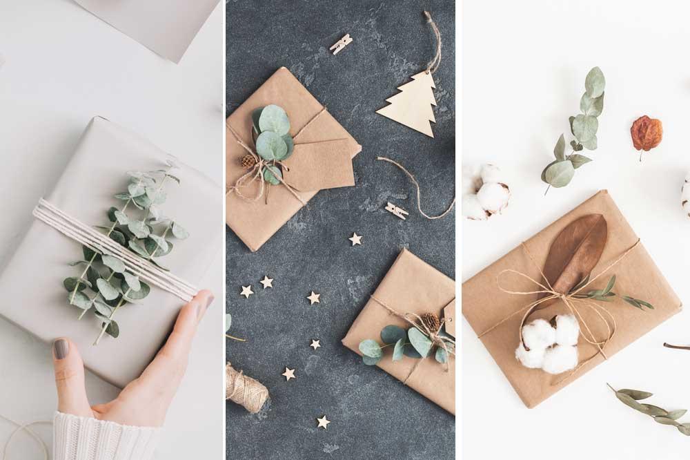 Inspiratie voor het versieren van je kerstcadeautjes, Getty