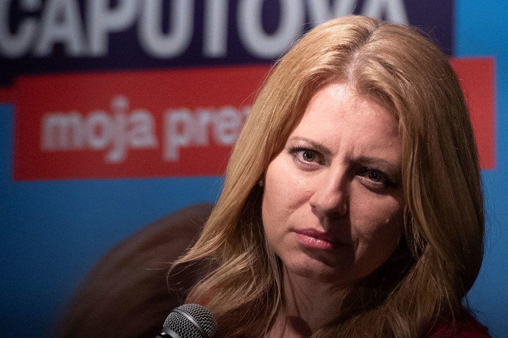 Zuzana Caputova, AFP