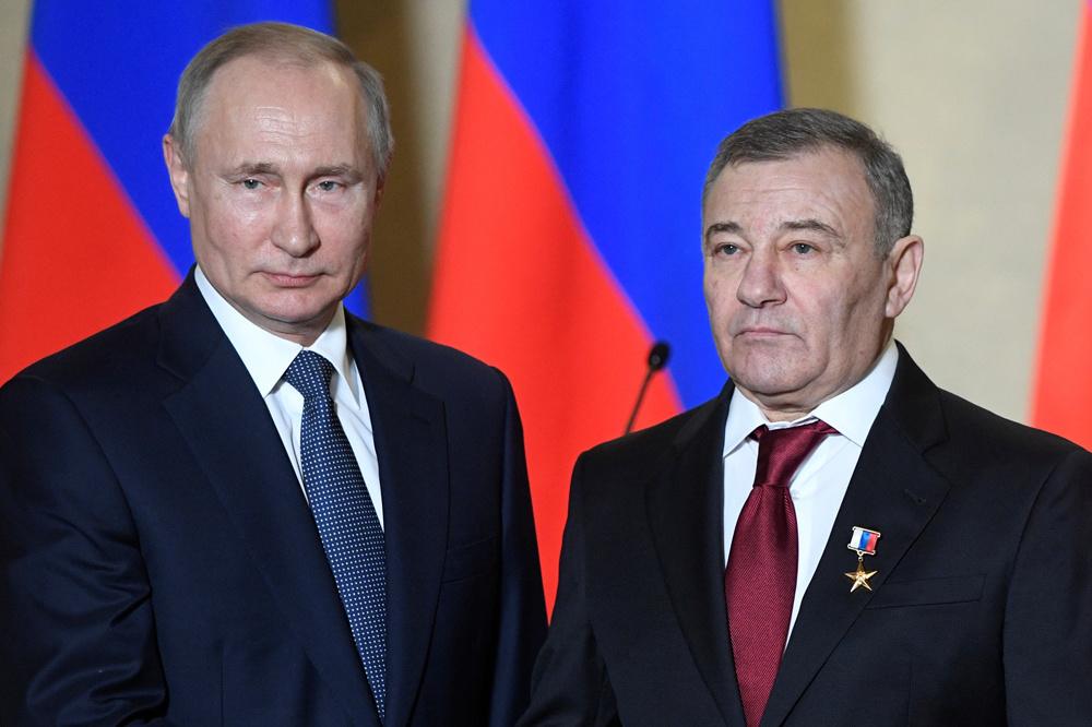 Arkadi Rotenberg et Poutine, Reuters