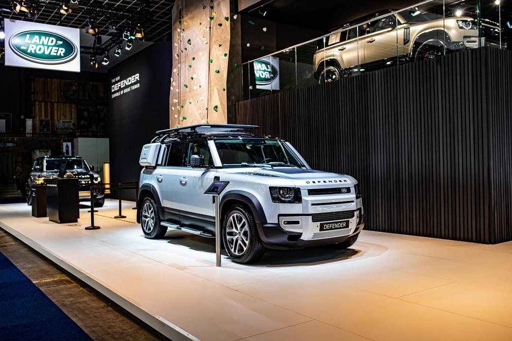 Qua look en design herinnert de nieuwe Land Rover Defender aan zijn voorganger., Patrick Theunissen