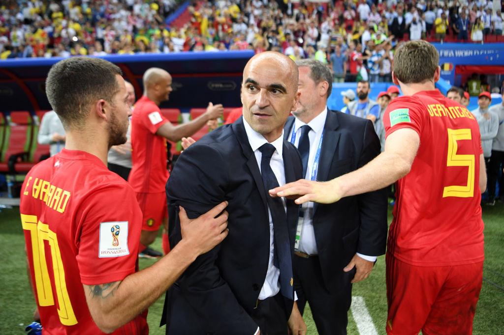 Eden Hazard, Roberto Martinez et Jan Vertonghen., iStock