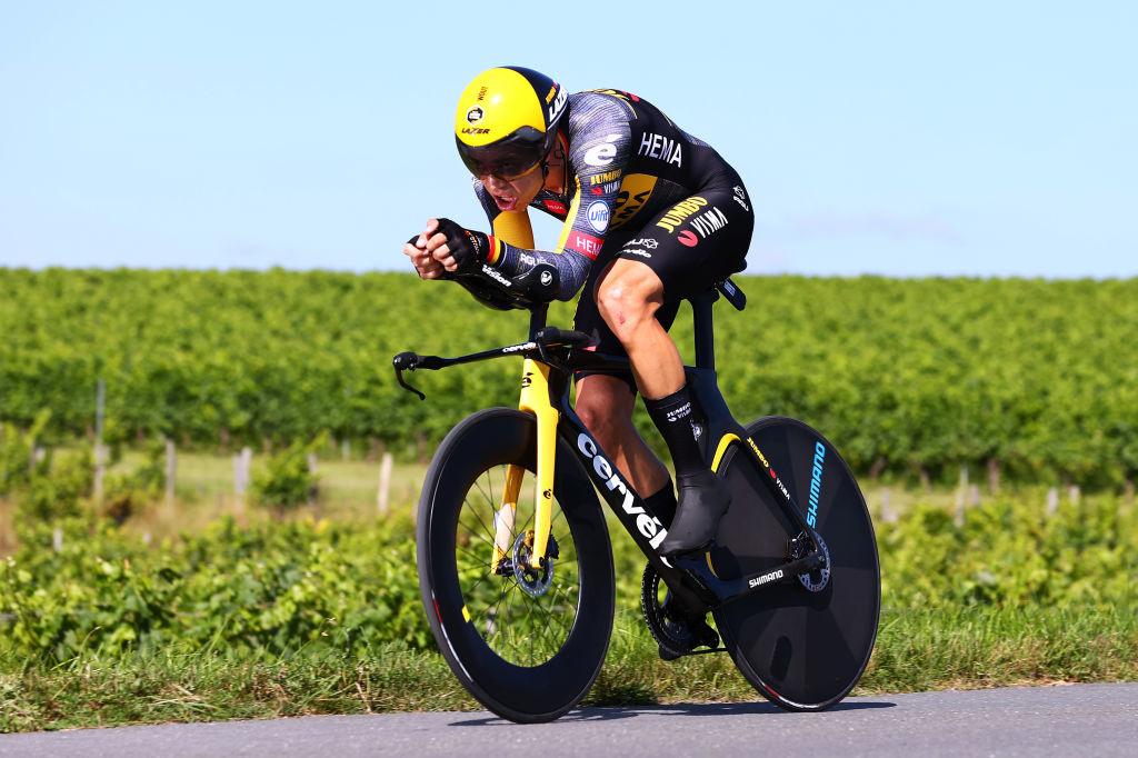 Vainqueur du dernier chrono du Tour, Van Aert visera aussi la médaille lors du contre-la-montre individuel., iStock