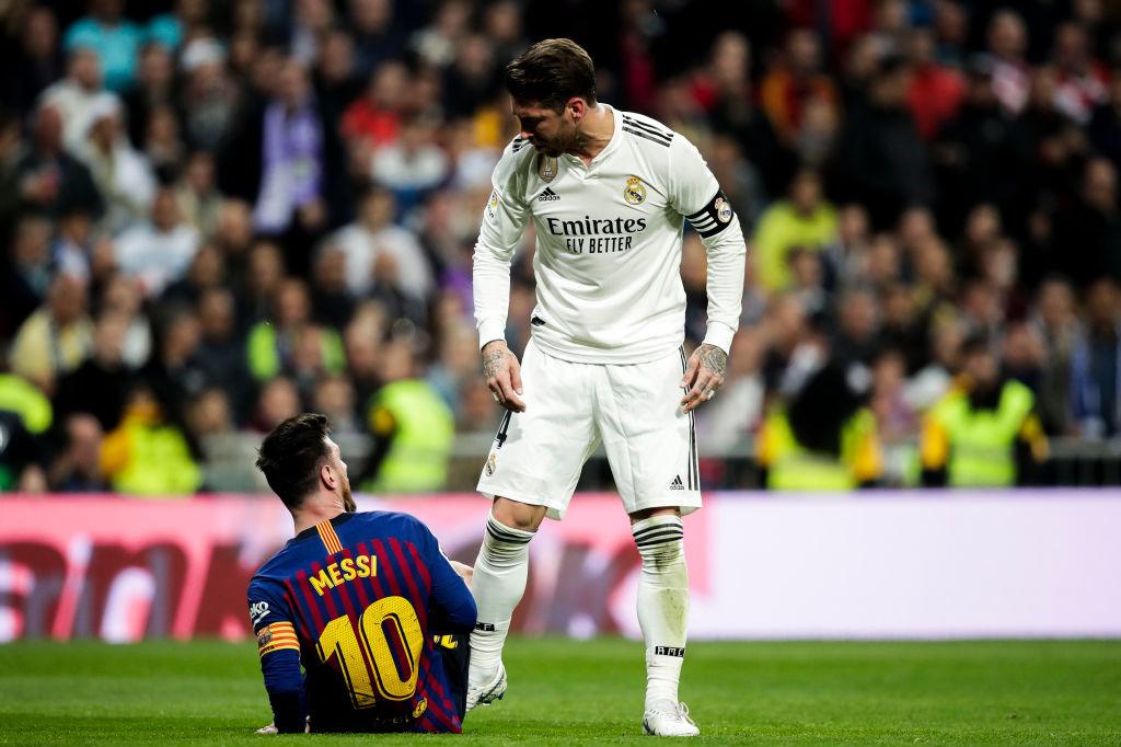 Désormais c'est fini de viser les chevilles de Lionel Messi pour Sergio Ramos., iStock