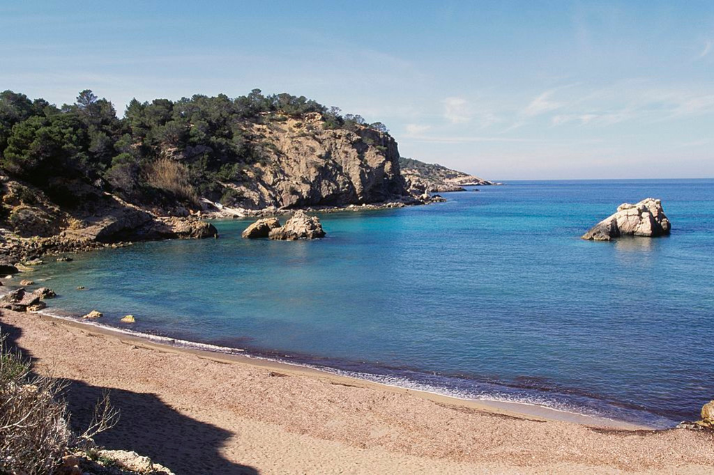 Cala Xarraca, Ibiza, Getty