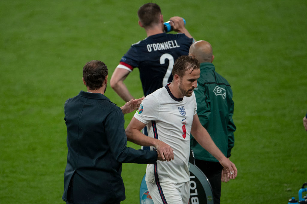 Gareth Southgate défend toujours son capitaine, amorphe depuis le début de l'Euro., iStock