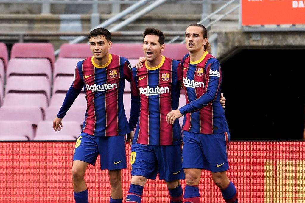 Comme Griezmann, Pedri s'est invité à la table de Lionel Messi, iStock