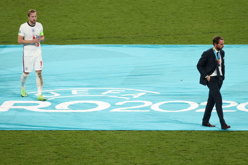 Harry Kane et Gareth Southgate ont été cherchés la médaille d'argent. Pas celle qu'ils espéraient., iStock