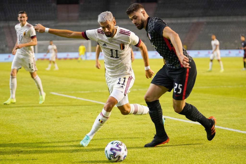 Gvardiol opposé à Carrasco lors du récent amical entre la Croatie et les Diables rouges, Getty Images/iStock