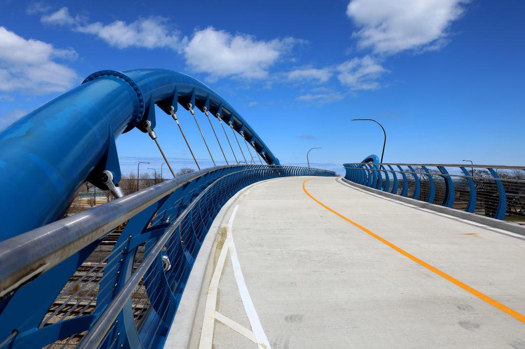 41st Street Bridge in Chicago moest het onderspit delven voor het Limburgs fietspad, Getty Images