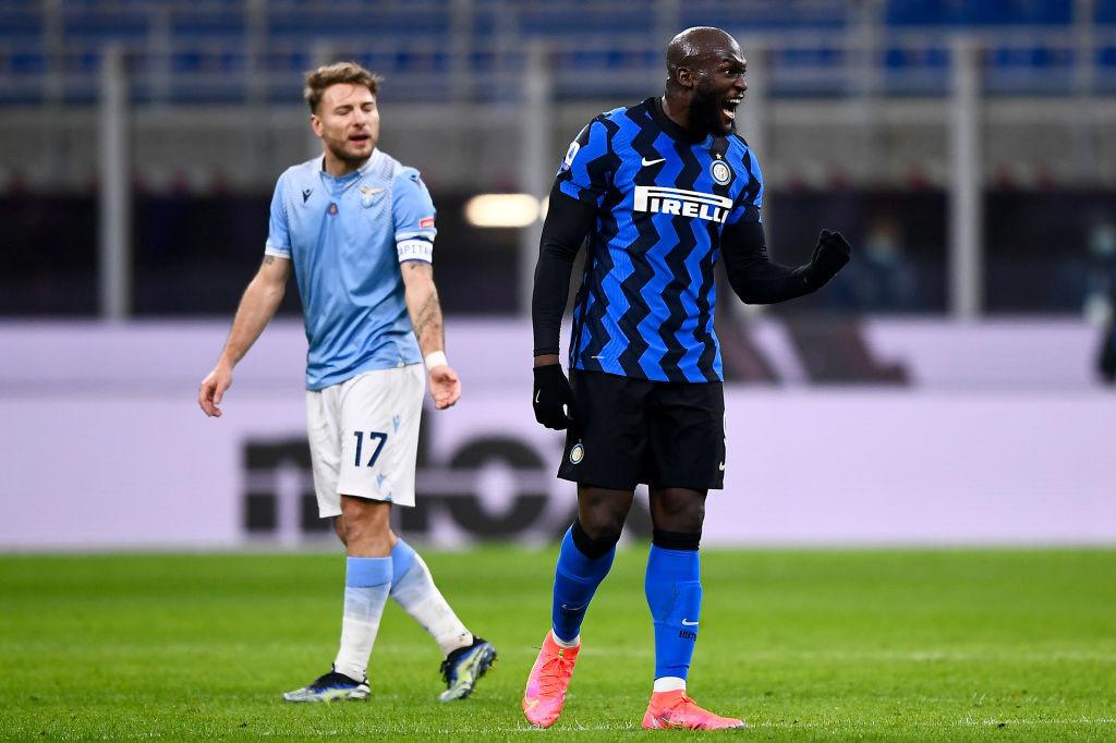 Immobile et Lukaku se sont croisés quelques fois lors des duels entre leurs clubs, la Lazio et l'Inter., iStock