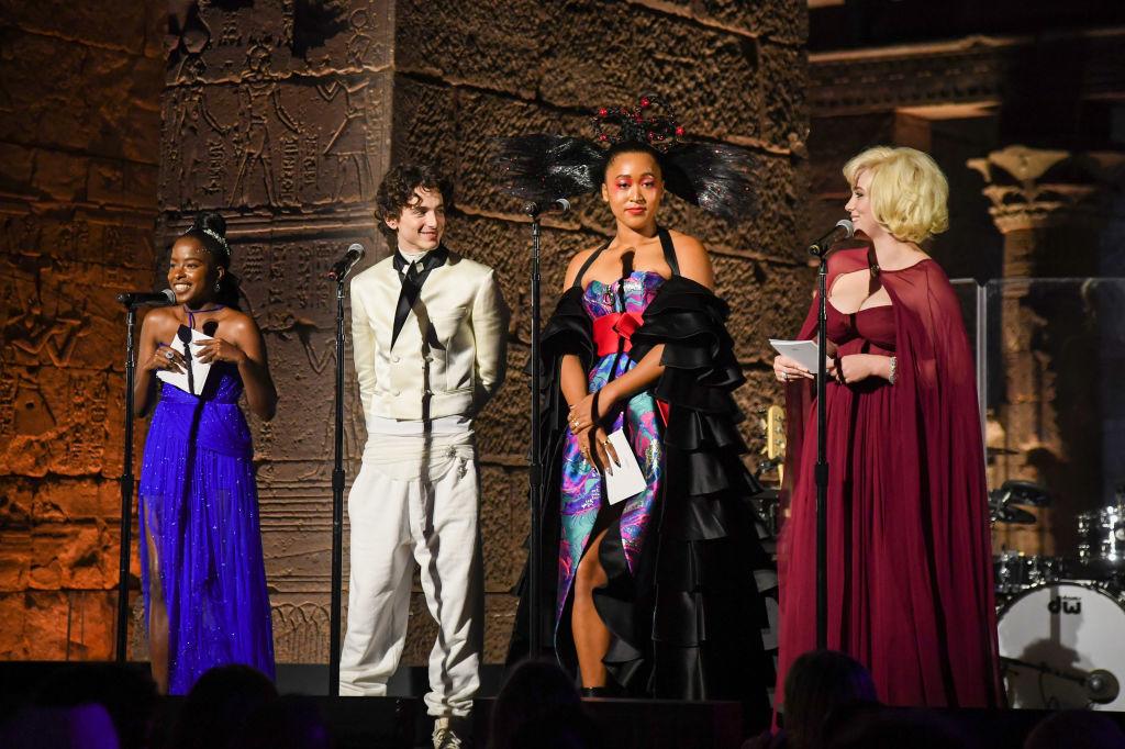 De jonge hosts: Amanda Gorman, Timothée Chalamet, Naomi Osaka, Billie Eilish, Getty