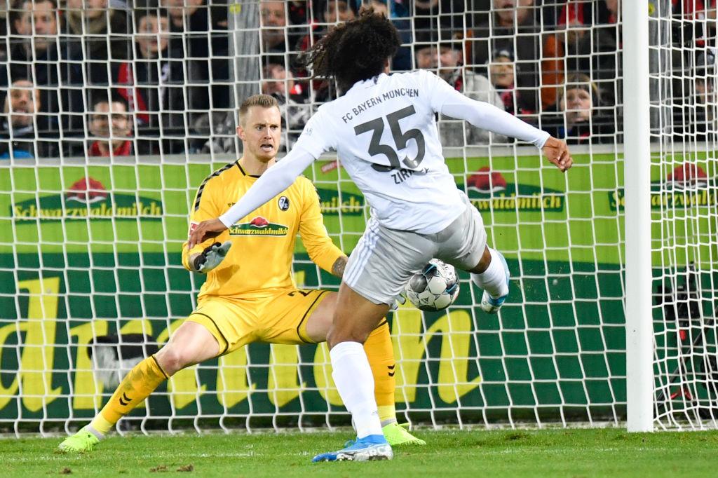 Joshua Zirkzee inscrit son premier but en Bundesliga le 18 décembre 2019 contre Fribourg., iStock