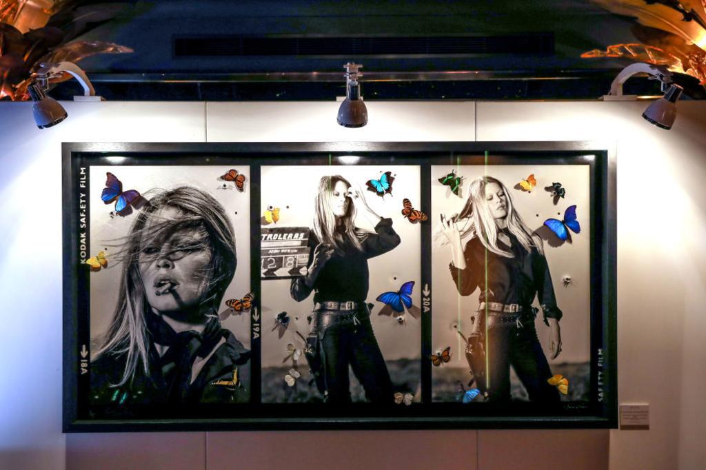 Een werk uit de tentoonstelling 'Hollywood, Reloaded', waarin werken van O'Neill onder handen werden genomen., Getty