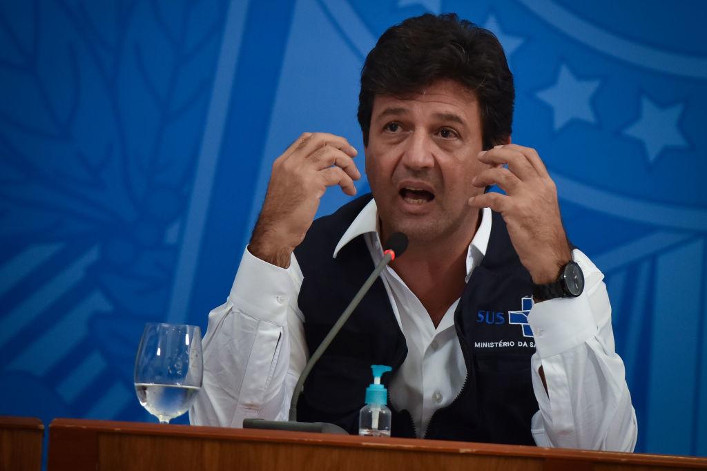 Ancien ministre de la santé brésilien, Luiz Henrique Mandetta, Getty