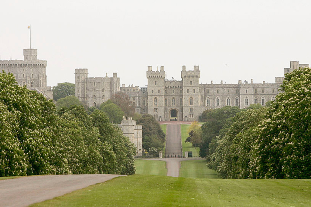 De buitenkant van Windsor Castle, Getty Images