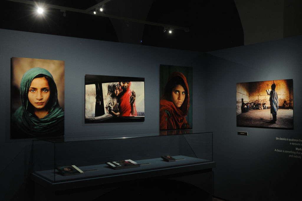 Expo Steve McCurry in Italië (2019), Getty