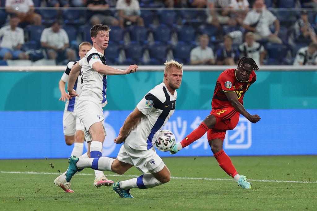 Le jeune ailier de Rennes aurait pu marquer pour son premier match en tournoi, mais le gardien finlandais a eu le réflexe qui sauve., iStock