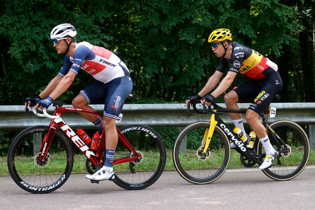 Stuyven et Van Aert auront animé l'étape et terminent respectivement à la deuxième et à la huitième place., iStock