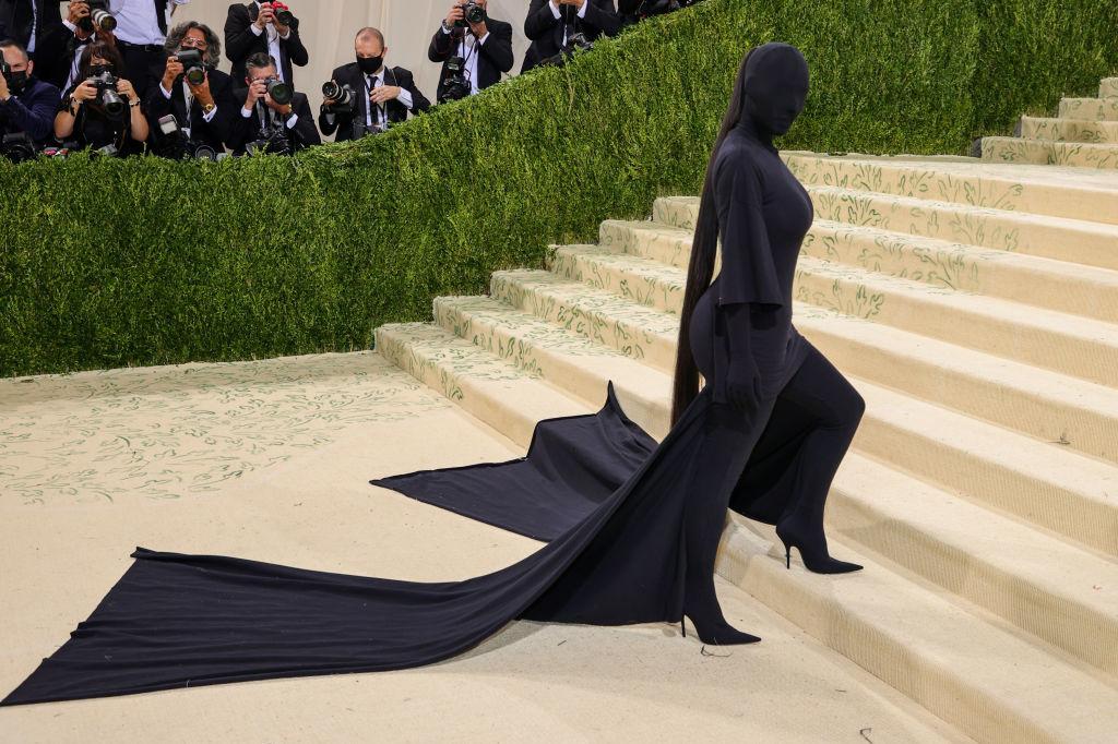 Kim Kardashian in Balenciaga, Getty