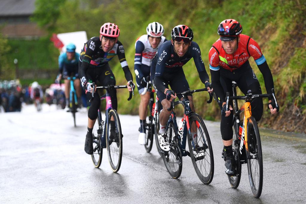 Carthy, Bernal et Landa, ici sur le Giro, se retrouveront encore sur la Vuelta pour jouer les premiers rôles., iStock